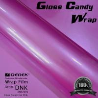 Gloss Candy Hot Pink Vinyl Wrap Film - Gloss Hot Pink