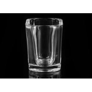 Quality Thick Wall Crystal Skull Shot Glass Durable With Heat Resisting for sale