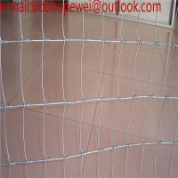 China Fencing Wire Mesh For Cattle/Horse/Sheep/Deer/ Hot -dipped Galvanized Steel Wire Field Fence Mesh/ knot fence mesh on sale
