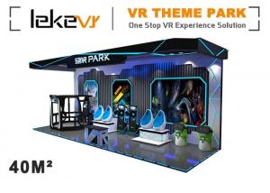 China Outdoor Enterainment VR Theme Park With 6 Dof Electric System Customized Color on sale
