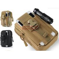 China Outdoor Tactical Holster Military Molle Hip Waist Belt Bag Wallet Pouch Purse Phone Case with Zipper for iPhone 7/LG on sale