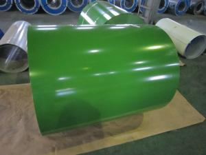 China Al-Zn Coated Prepainted Steel Coil Color Strip Galvanized / Galvalume on sale