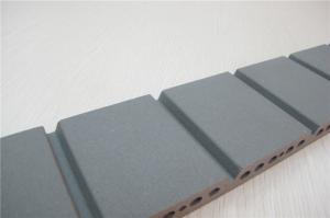 China Grey Exterior Wall Materials ,  Grooved External Wall Finishing Materials on sale