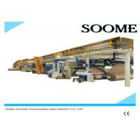 Fully Automatic Corrugated Cardboard Production Line 5 Layers 1 Year Warranty