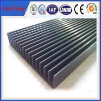 China factory extrusion fin aluminum heatsink / aluminum radiator profile / aluminum price kgs on sale