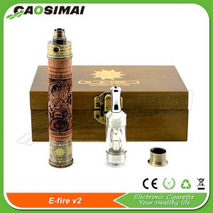 China Gaosimai hot selling vaporizer pen E Fire V2 kit on sale