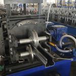 Metal Pallet Storage Shelf Rack Roll Forming Machine With Gear