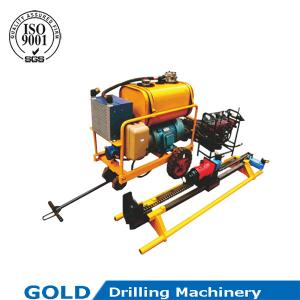 China Newly-designed overall structure full hydraulic tunnel drilling rig on sale