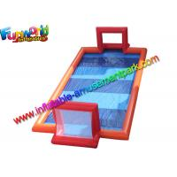 China 46 feet Inflatable Water Football Games Field , Inflatable Sport Court With Vinyl on sale