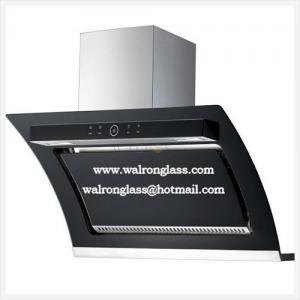 China Black Screen Printing Glass for Kitchen Range Hood/Home Appliance on sale