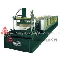 Joint Hidden Roof Panel Roll Forming Machine for Cable Tray / Guardrail / Rack / Silo
