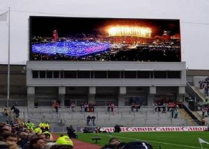 China Waterproof P8 Advertising Led Video Wall Display Screen Super Clear Vision on sale