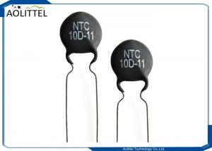 China Inrush Current Suppressors 10D-11 Disc NTC Thermistor 11mm 3A 10 Ohm +/-20% 10D11 P7.5mm on sale