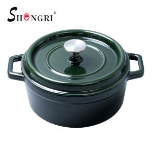 China Metal Casserole Enamel Grill Hot Saucepan Cast Iron Cookware on sale