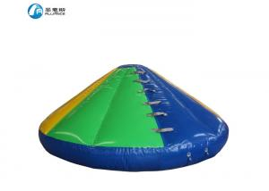 China water floating inflatable conical water slide on sale