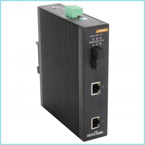 China Surge protection managed industrial ethernet switch , 150 * 128.5 * 37mm small network switch 2 port on sale