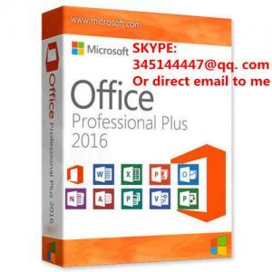 China Microsoft Office 2016 Professional Plus Key MS Office Pro Plus Deutsch 32/64 Bit on sale