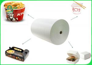 China Greaseproof 260gsm 300gsm 350gsm + 15g PE Coated Cardboard For Food Container on sale