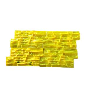 China Silicone Stamped Concrete Driveway Moulds , Rubber Polyurethane Garden Paving Moulds on sale