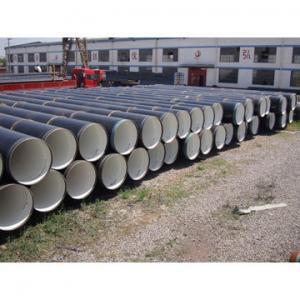 China Especs. 5L do API, tubulações de aço de aço de tubulação da solda espiral laminada a alta temperatura de ASTM A106/SSAW on sale
