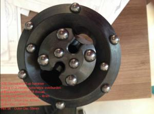 China Top hammer Casing O.D 76mm symmetrix overburden drilling system with T38 thread on sale