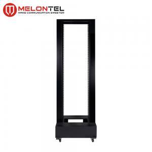 China Cold Rolled Custom Server Rack Cabinet  19 Inch 18U 1 Column Open MT 6031 on sale
