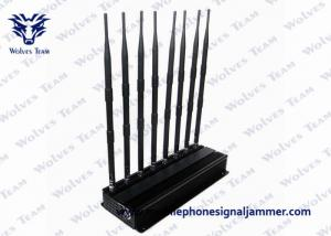 China Desktop 3G 4G Mobile Phone Network Signal Jammer and UHF VHF WiFi Jammer on sale