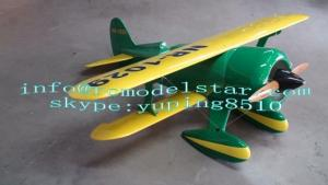 China Balsa Wood RC Model Airplane , Laird ss 50cc Light Radio Controlled Planes on sale