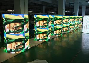 China High Defination and Resolution P4 Custom LED Display HD Video Advertising Column on sale