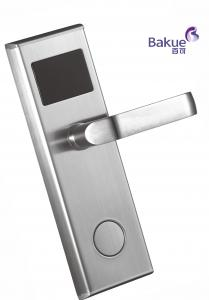 China Beautiful Modern House Electronic Door Lock Hotel Entrance Lock With Card Open on sale