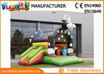Large Commercial Bouncy Castles / 0.55mm PVC Tarpaulin Inflatable Cow Bouncer