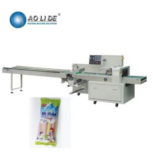 China Flow Automatic Ice Candy Ice Lolly Packing Machine supplier