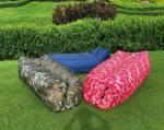 Outdoor Camping Inflatable Sleeping Bag 190T Terylene Material Quick Inflation