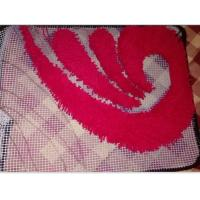 65cm X 180cm PVC Tapestry Mat, Anti Slip Mat, Hand Knitting Carpet Base Mat