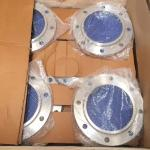 Solid Material Stainless Steel Threaded Pipe Flange , Raised Face Flange 1/2''-48''