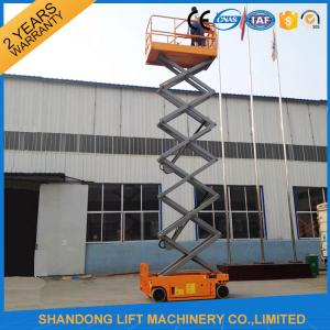 China Self Propelled Scissor Lifts Hire , Hydraulic Mobile Elevated Work Platform? on sale