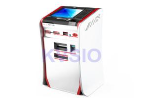 China Interactive Bank ATM Vending Machine Generous Looking For Card Issuing on sale