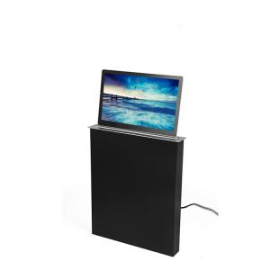 China Conference Room Office Table LCD Monitor Lifting Mechanism Implicit LED Screen Display on sale