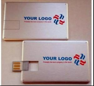 China full color printing credit card usb drives with 512mb 1g 2g 4g 8g 16g on sale