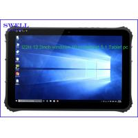 Android Dual Boot intel Z8300 12.2Inch Windows Tablet Handheld with rj45 rs232 rs485 For Field Use