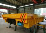 Large Capacity Storage Battery Turning Rail Coil Transfer Cart For Material Handling