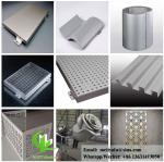 perforated aluminum sheet for facade wall cladding panel exterior building cover for building or ceiling