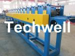 Manual Decoiler GCr15 High Grade Roller, 1.5 - 2.5mm Roller Shutter Roll Forming Machine