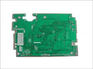 China 4 Layer Rogers High Frequency Pcb 2 Oz Copper White Silkscreen Double Sided on sale