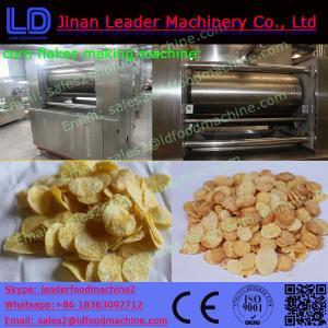 China corn flakes manufacturers corn flake bars food making machinery on sale