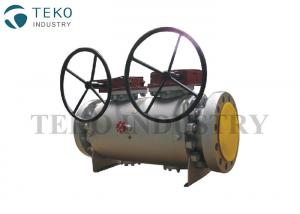 China Flange End Forged Steel Ball Valve International Painting A105N Material With DBB Function on sale