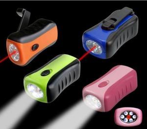 China OEM / Custom Electronic Mini LED Flashlights, ABS Shell, 3.6V 80Ma Ni-mh Battery on sale
