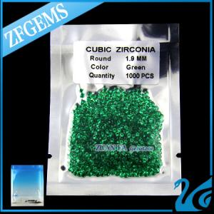 China nano green gemstone heat-resistant synthetic emerald on sale
