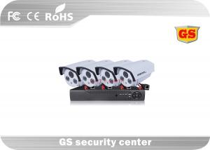 China Outdoor / Indoor High Definition CCTV DVR Kit PTZ Controlled Multi Language OSD on sale