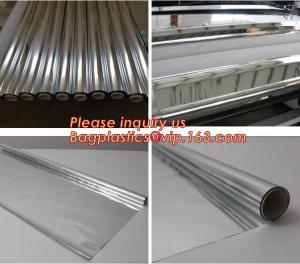 China Thermal Insulation reflective aluminium metalized pet film for package or agriculture,Metallized PET /PE coated Film PET on sale